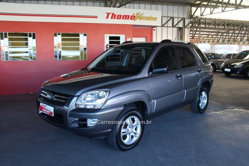 sportage 2.0 lx 4x2 16v gasolina 4p manual 2009 caxias do sul