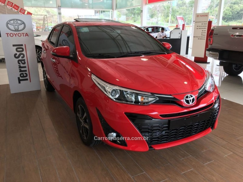 yaris 1.5 16v flex xls multidrive26 2019 bento goncalves
