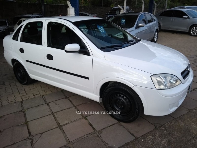 corsa 1.0 mpfi maxx sedan 8v flex 4p manual 2003 bento goncalves