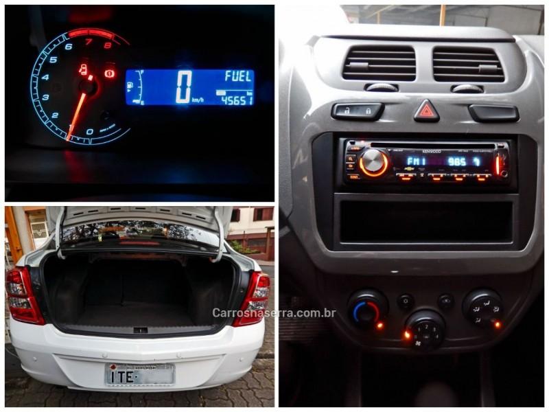 COBALT 1.4 MPFI LT 8V FLEX 4P MANUAL - 2012 - CAXIAS DO SUL
