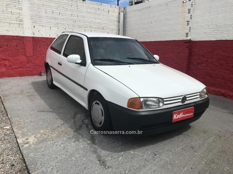 gol 1.6 cl 8v gasolina 2p manual 1997 caxias do sul