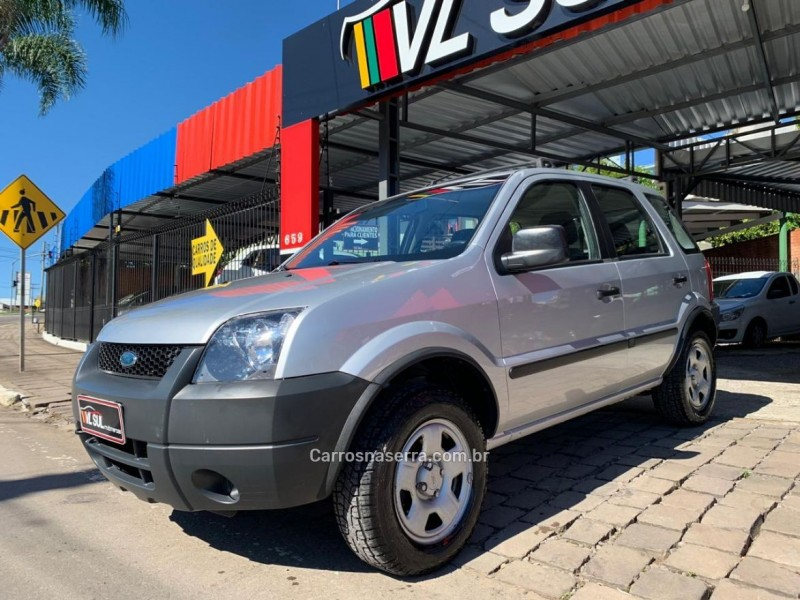 ECOSPORT 1.6 XLS 8V GASOLINA 4P MANUAL - 2005 - CAXIAS DO SUL