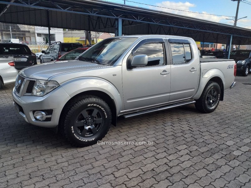 frontier 2.5 s 4x4 cd turbo eletronic diesel 4p manual 2016 caxias do sul