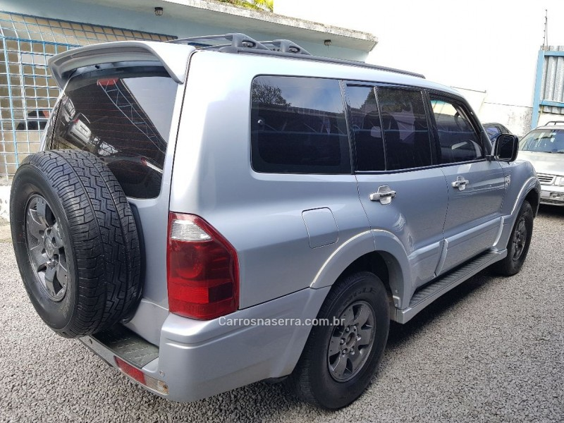 pajero full 3.8 hpe 4x4 v6 24v gasolina 4p automatico 2004 bento goncalves