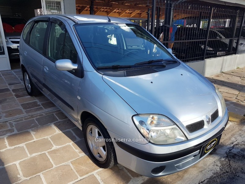 scenic 1.6 expression 16v gasolina 4p manual 2005 caxias do sul