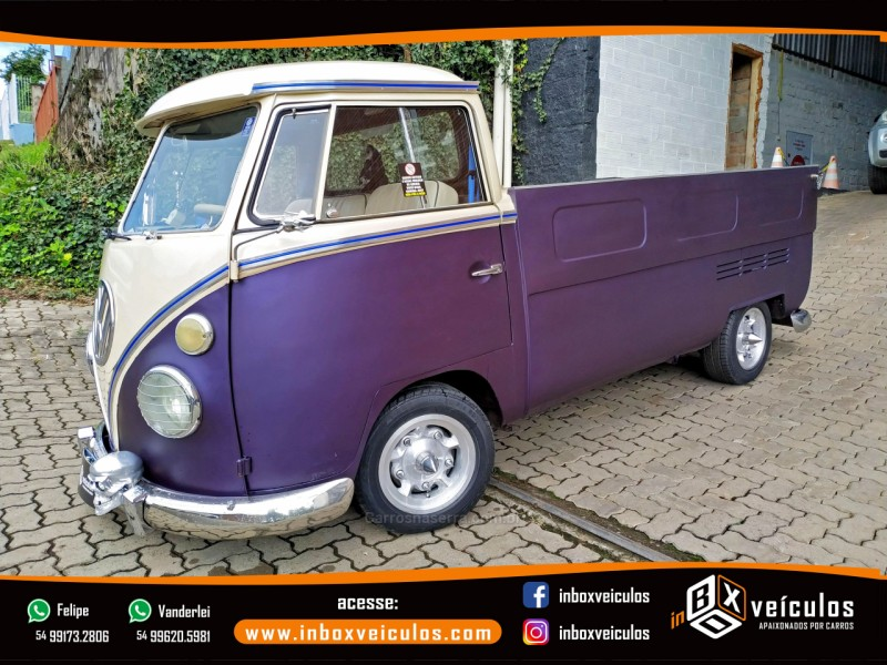 kombi 1.6 pick up cs 8v gasolina 2p manual 1971 gramado