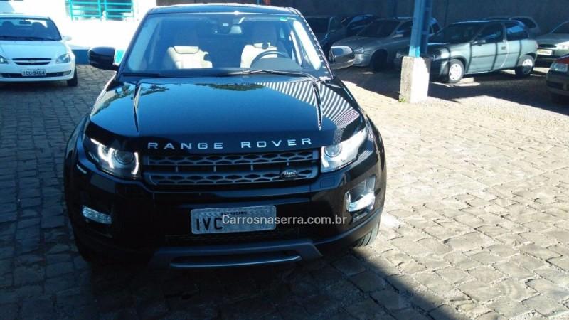 RANGE ROVER EVOQUE 2.0 PURE TECH 4WD 16V GASOLINA 4P AUTOMÁTICO - 2013 - VACARIA