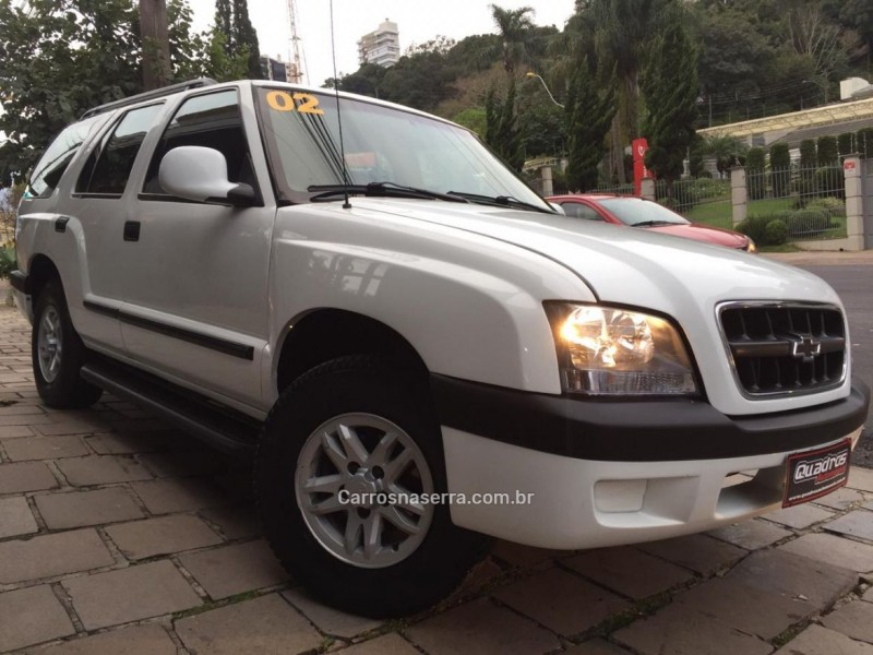 blazer 2.4 mpfi st 4x2 8v gasolina 4p manual 2002 caxias do sul