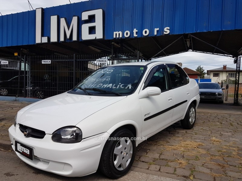 corsa 1.0 mpfi classic sedan spirit 8v flex 4p manual 2005 caxias do sul