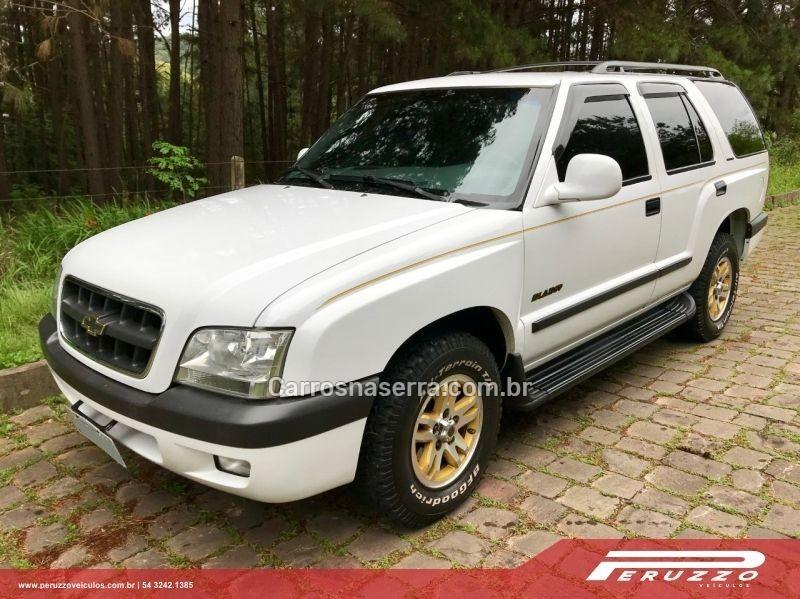 blazer 4.3 sfi dlx executive 4x2 v6 12v gasolina 4p automatico 2001 nova prata