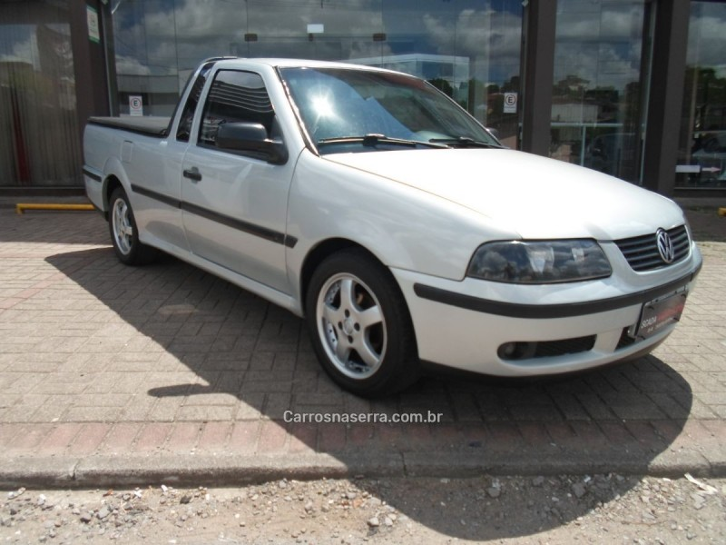 saveiro 1.8 mi cs 8v gasolina 2p manual g.iii 2001 caxias do sul