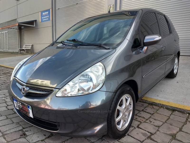 fit 1.5 ex 16v gasolina 4p manual 2007 caxias do sul