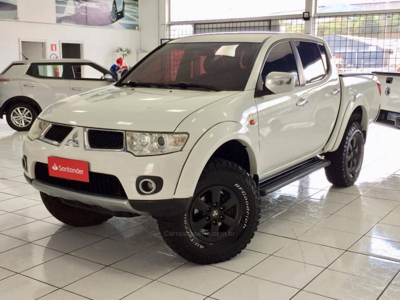 l200 triton 3.2 hpe 4x4 cd 16v turbo intercooler diesel 4p manual 2013 caxias do sul