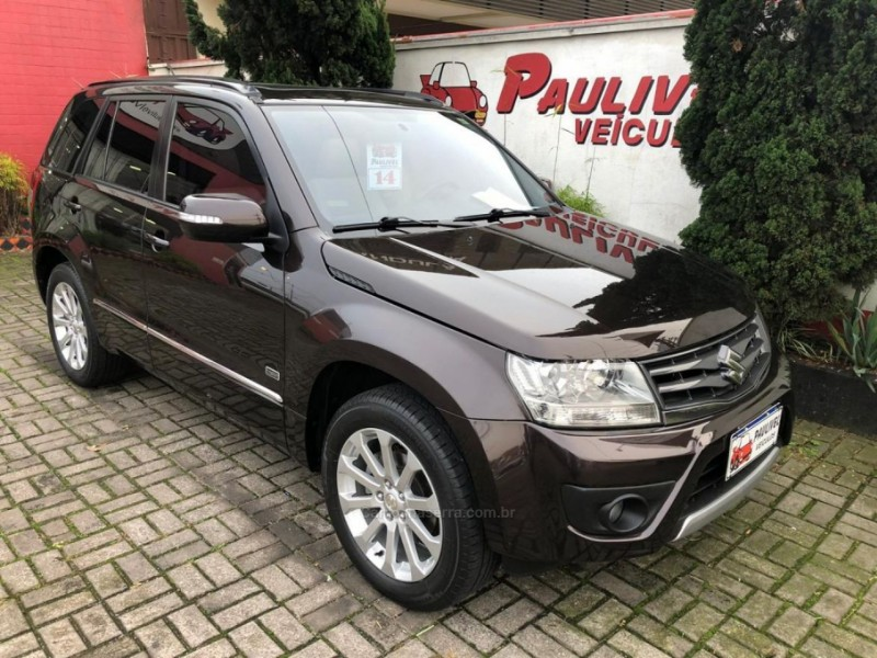 grand vitara 2.0 limited edition 4x2 16v gasolina 4p automatico 2014 caxias do sul