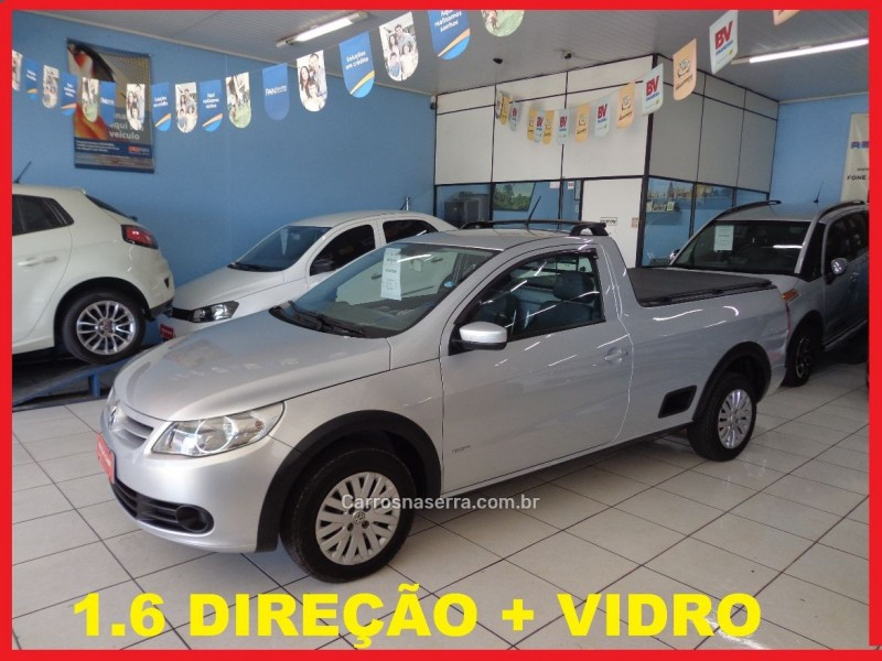 saveiro 1.6 mi trend cs 8v flex 2p manual g.v 2011 caxias do sul