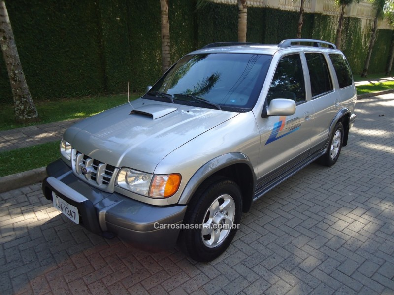 sportage 2.0 dlx grand 4x4 turbo intercooler diesel 4p manual 2001 caxias do sul