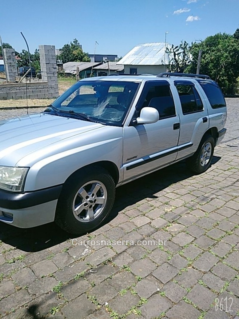 blazer 2.4 mpfi advantage 4x2 gasolina 4p manual 2006 caxias do sul