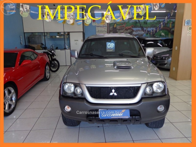 l200 outdoor 2.5 gls 4x4 cd 8v turbo intercooler diesel 4p manual 2008 caxias do sul