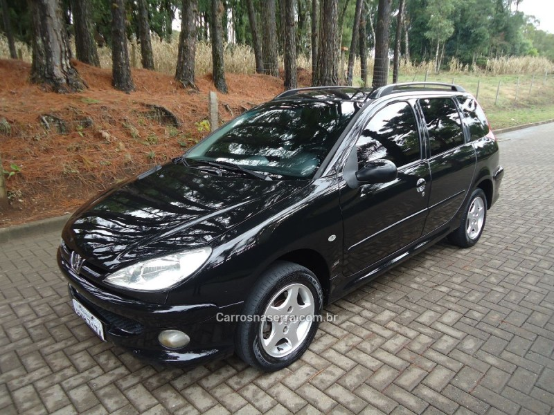 206 1.6 feline sw 16v gasolina 4p manual 2005 caxias do sul