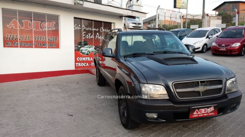 s10 2.8 tornado 4x2 cd 12v turbo electronic intercooler diesel 4p manual 2008 caxias do sul