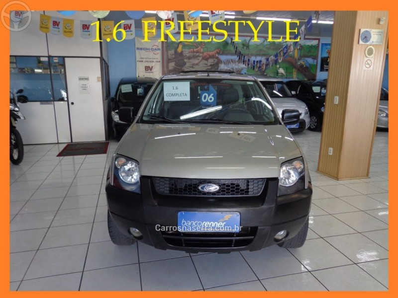 ecosport 1.6 xls freestyle 8v flex 4p manual 2006 caxias do sul