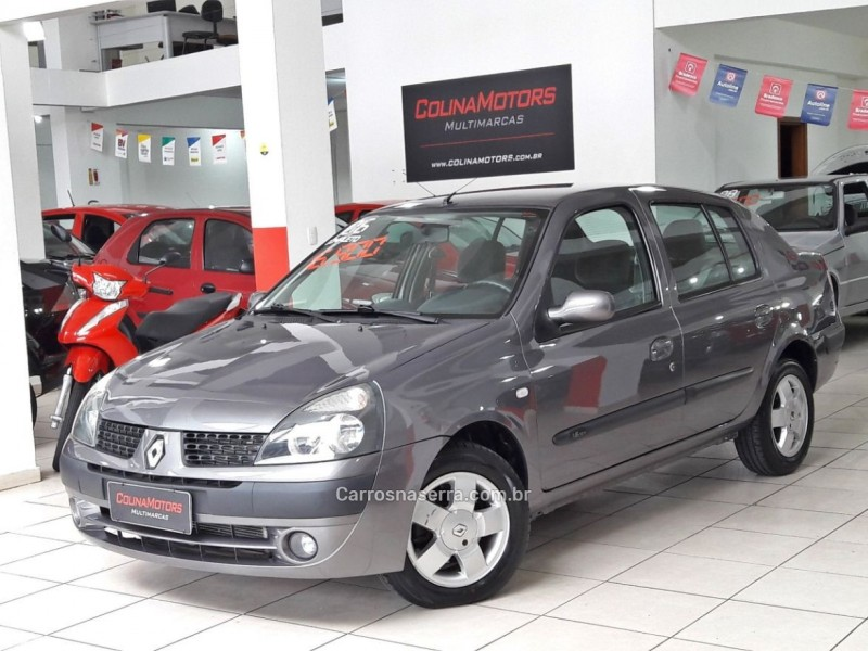 clio 1.6 privilege sedan 16v flex 4p manual 2006 caxias do sul