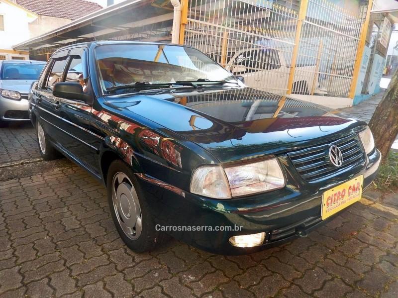 santana 2.0 mi 8v gasolina 4p manual 1999 caxias do sul