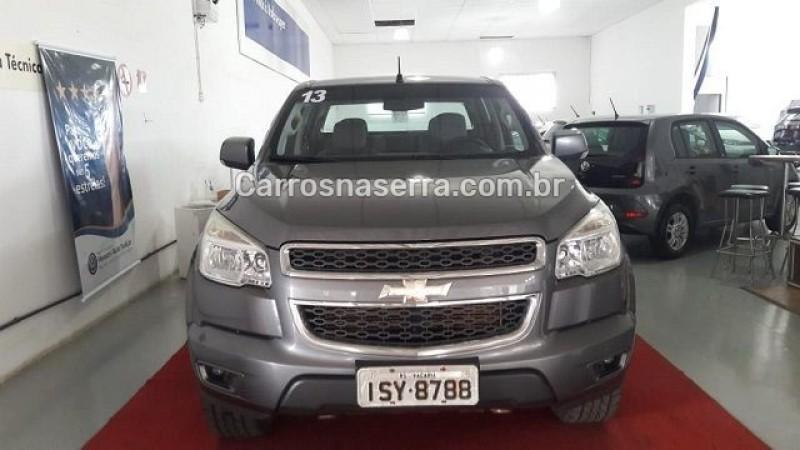s10 2.8 lt 4x4 cd 16v turbo diesel 4p automatico 2013 bento goncalves