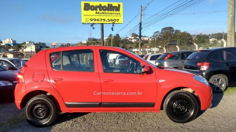 sandero 1.0 expression 16v flex 4p manual 2011 farroupilha