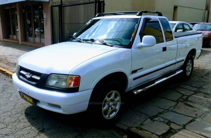 s10 2.2 efi dlx 4x2 cd 8v gasolina 4p manual 1996 caxias do sul