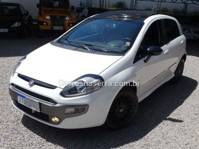 punto 1.8 sporting 16v flex 4p manual 2013 nova prata