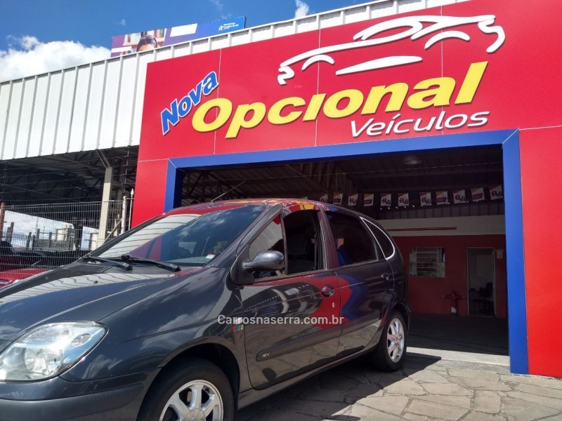scenic 1.6 kids 16v flex 4p manual 2009 caxias do sul
