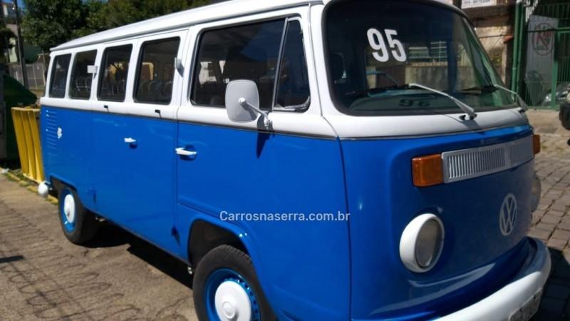 kombi 1.6 luxo 8v gasolina 3p manual 1995 caxias do sul