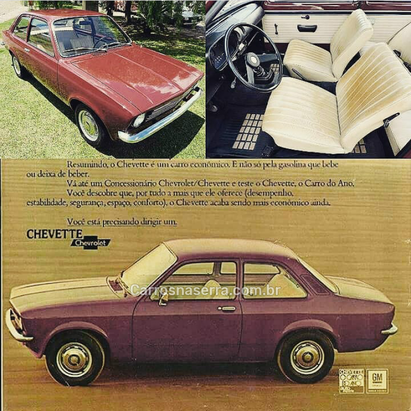 chevette 1.4 8v gasolina 4p manual 1974 sao marcos