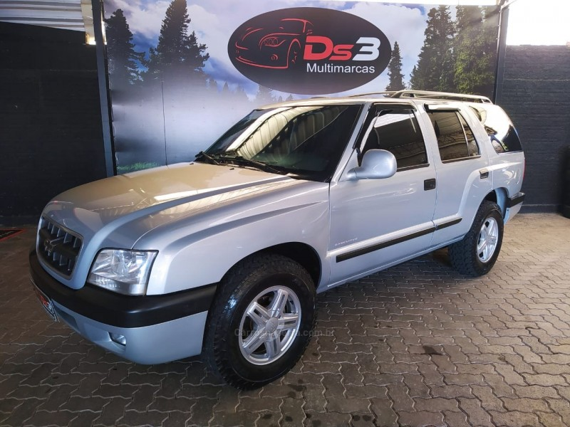 blazer 2.8 executive 4x4 turbo eletronic diesel 4p manual 2005 caxias do sul