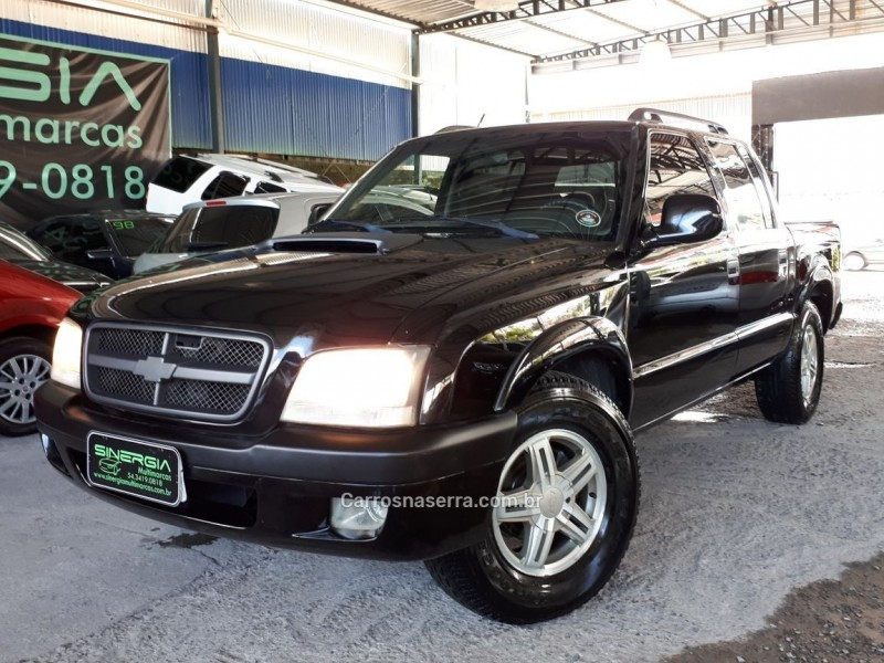s10 2.8 executive 4x2 cd 12v turbo electronic intercooler diesel 4p manual 2008 caxias do sul