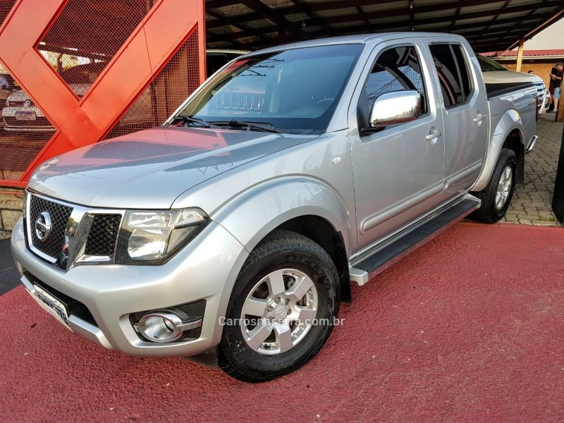 frontier 2.5 platinum 4x4 cd turbo eletronic diesel 4p automatico 2014 farroupilha
