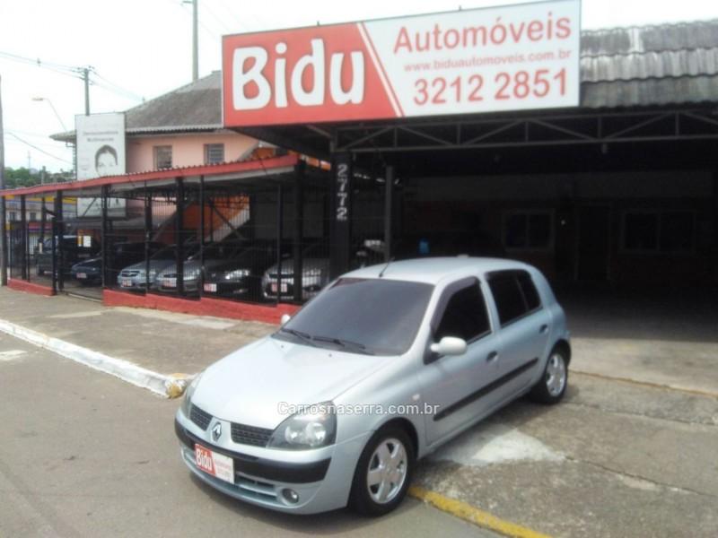 clio 1.0 privilege 16v gasolina 4p manual 2003 caxias do sul