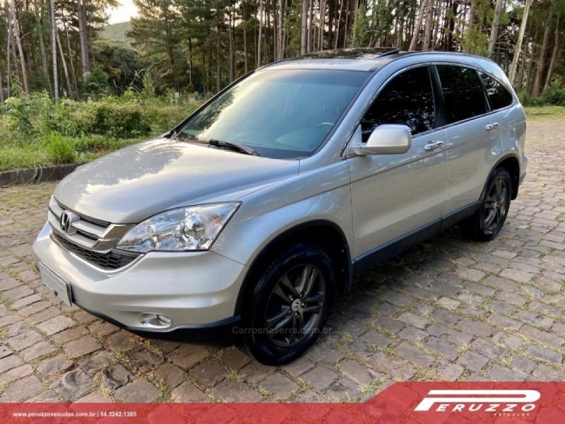 crv 2.0 exl 4x4 16v gasolina 4p automatico 2010 nova prata