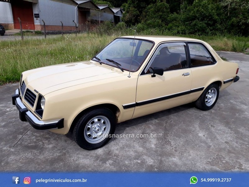 chevette 1.4 sl 8v gasolina 2p manual 1980 bento goncalves