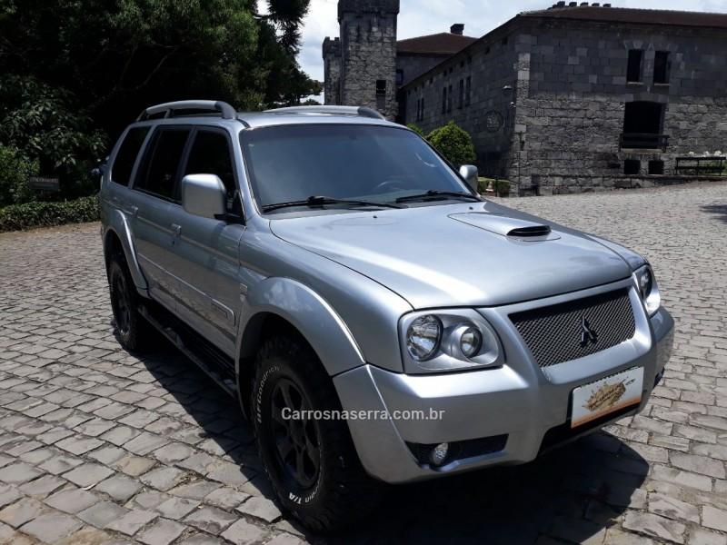 pajero sport 2.5 hpe 4x4 8v turbo intercooler diesel 4p automatico 2007 caxias do sul
