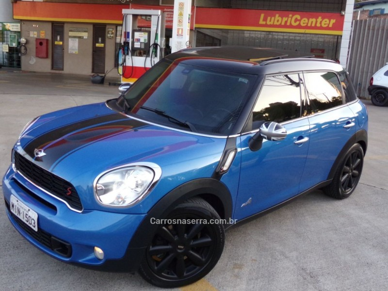 countryman 1.6 s all4 4x4 16v 184cv turbo gasolina 4p automatico 2011 caxias do sul
