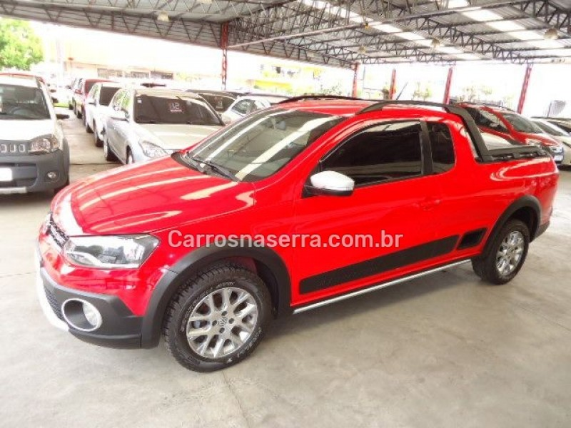 saveiro 1.6 cross ce 16v flex 2p manual 2014 caxias do sul