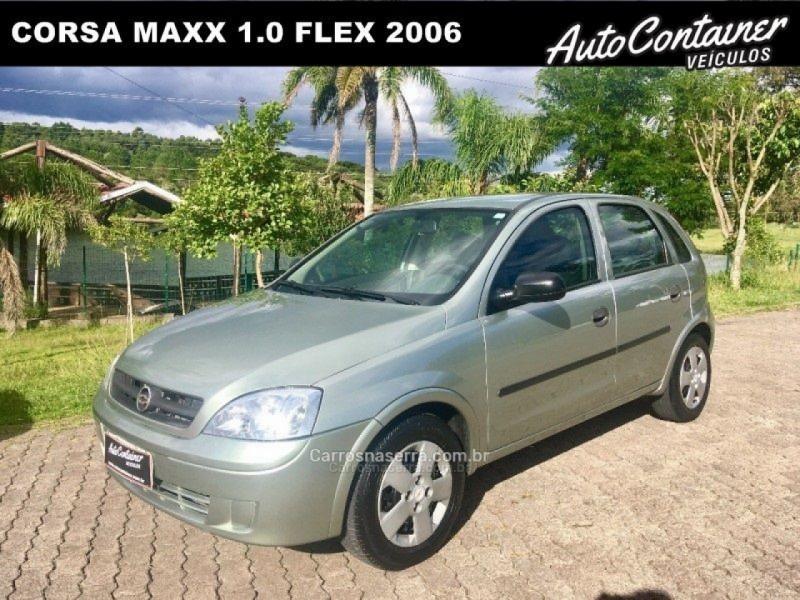 corsa 1.0 mpfi maxx 8v flex 4p manual 2006 caxias do sul
