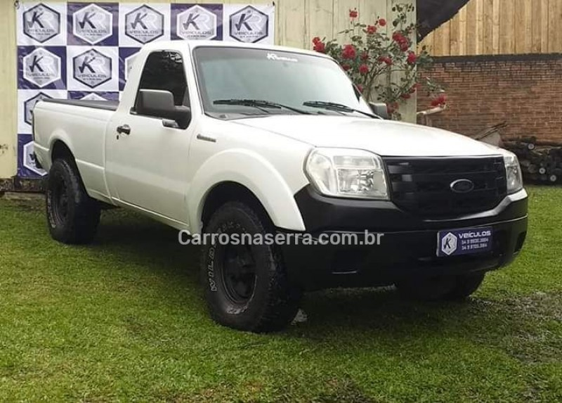 ranger 3.0 xl 4x4 cs turbo electronic diesel 2p manual 2011 canela