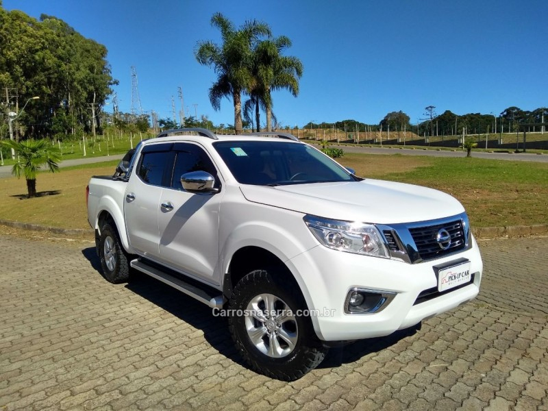 frontier 2.3 le 4x4 cd bi turbo diesel 4p automatico 2017 caxias do sul