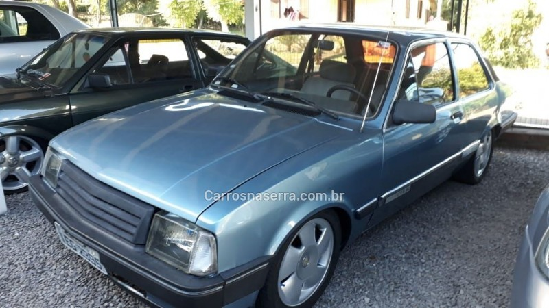 chevette 1.6 sl 8v alcool 2p manual 1988 picada cafe