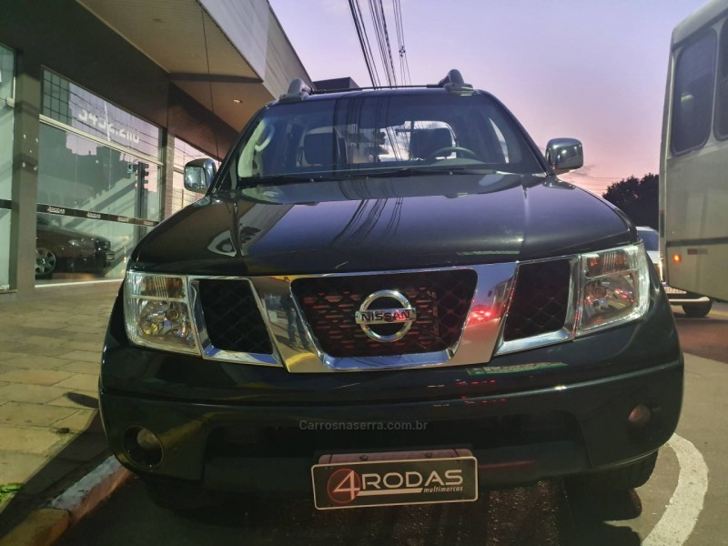 frontier 2.5 le 4x4 cd turbo eletronic diesel 4p manual 2011 bento goncalves