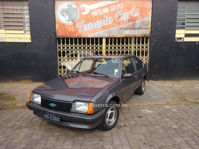 monza 1.6 hatch 8v alcool 2p manual 1982 caxias do sul