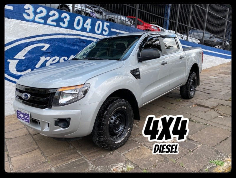 ranger 2.2 xl 4x4 cd 16v diesel 4p manual 2015 caxias do sul